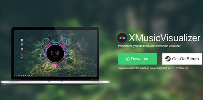 X Music Visualizer - cách tạo sóng nhạc trên máy tính phổ biến nhất
