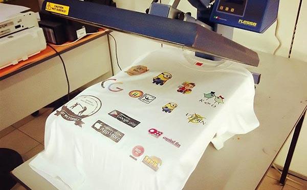 Chọn chất liệu vải in chuyển nhiệt để chất lượng áo đảm bảo
