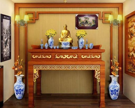 Đặt bát hương phù hợp với những vật phẩm trên ban thờ