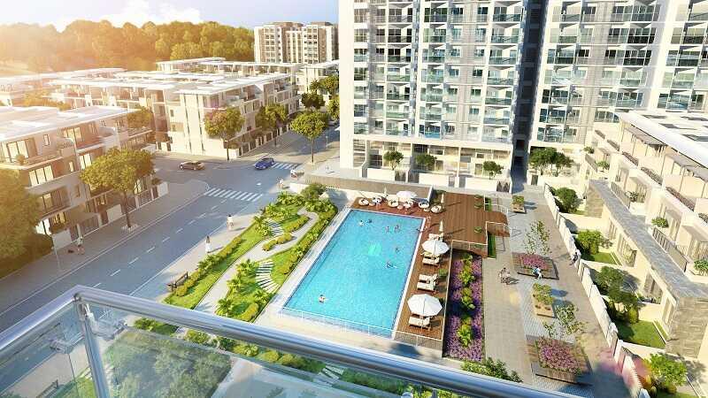 Ưu điểm từ vị trí tòa G3 dự án Vinhomes Green Bay