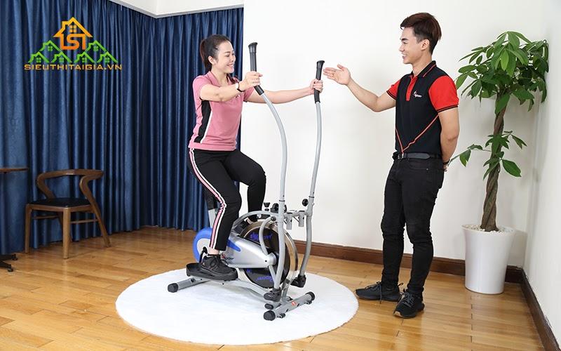 Kinh nghiệm chọn mua xe đạp tập thể dục phù hợp