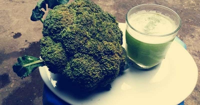 Nước ép từ bông cải xanh làm giảm sự phát triển của ung thư, viêm nhiễm