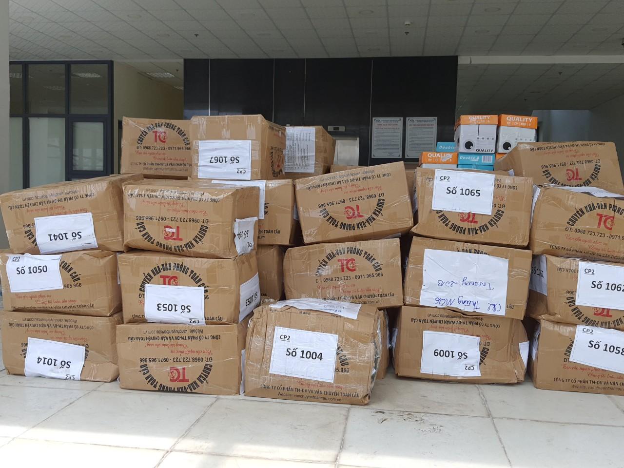 Hàng hóa luôn được đóng gói cẩn thận trước khi vận chuyển