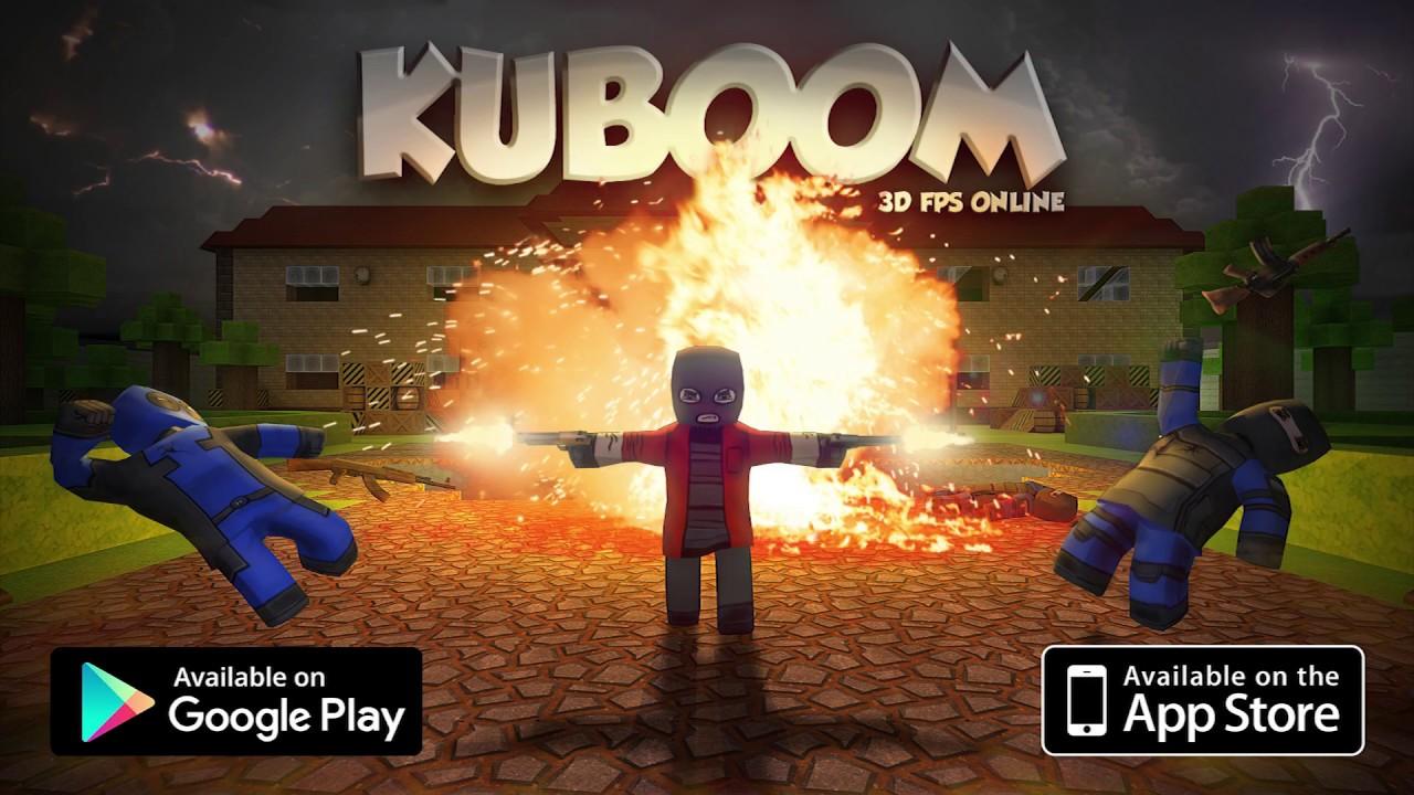 Kuboom có mặt trên hầu hết các hệ điều hành của thiết bị di động
