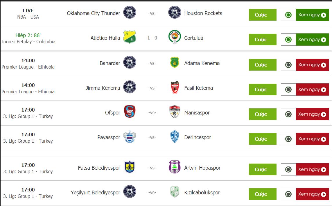 Trực tuyến Ibongda TV – Xem bóng đá trực tiếp miễn phí chất lượng cao