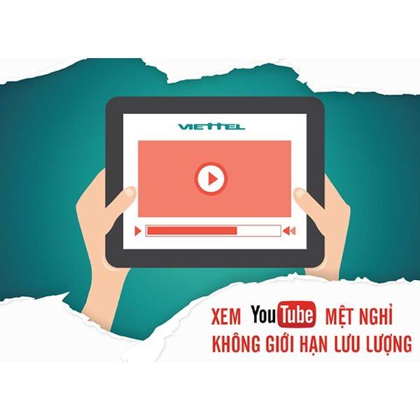 Thả ga lướt Youtube cùng Viettel