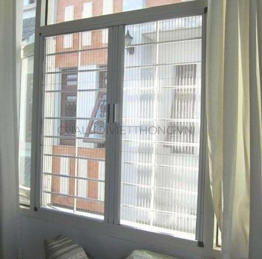 Cửa lưới chống muỗi cố định thích hợp tại những nơi không sử dụng thường xuyên