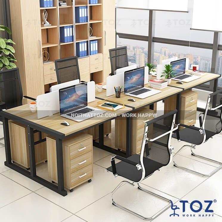 Bàn cụm cho văn phòng nhỏ, hẹp