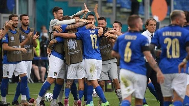 Ý là nhà đương kim vô địch của mùa giải Euro 2021 năm nay