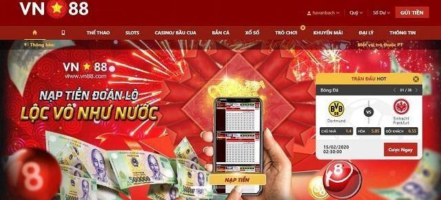 VN88.com cung cấp nhiều game cá cược hấp dẫn dành cho mọi đối tượng