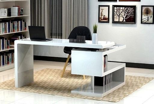 Sắp xếp nội thất văn phòng mệnh Thổ